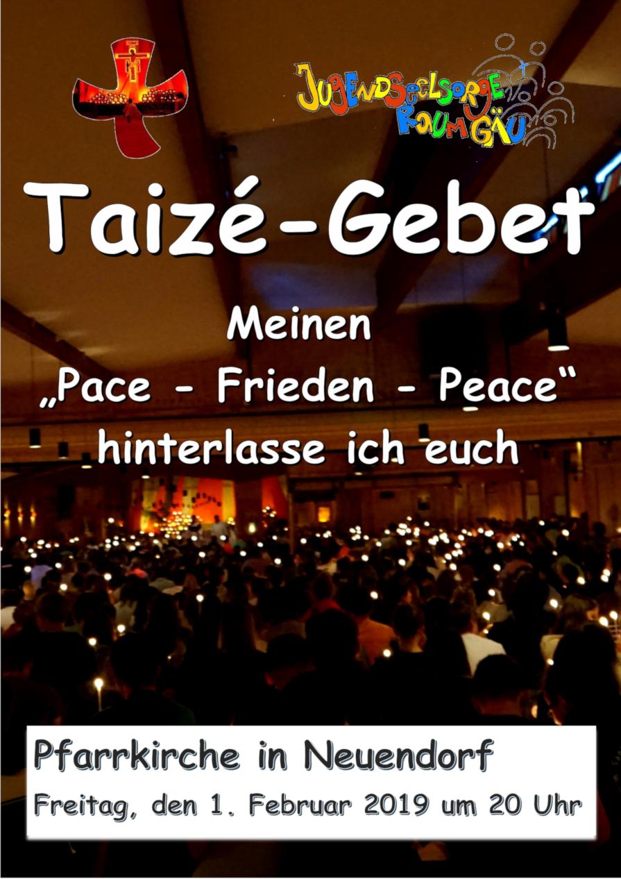 """Taizé – Gebet in  Neuendorf"""