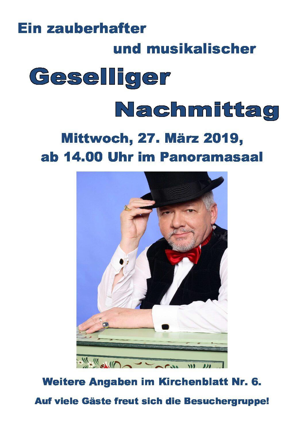 Geselliger Nachmittag Neuendorf