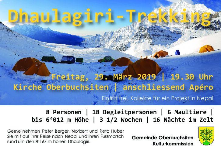 Dhaulagiri-Trekking