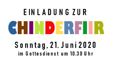 Chinderfiir 21. Juni 10.30